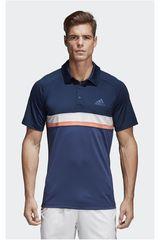 adidas Acero de Hombre modelo CLUB C/B POLO Camisetas Deportivo Polos