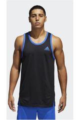 adidas Negro / Azulino de Hombre modelo SPORT TANK Bividis Deportivo