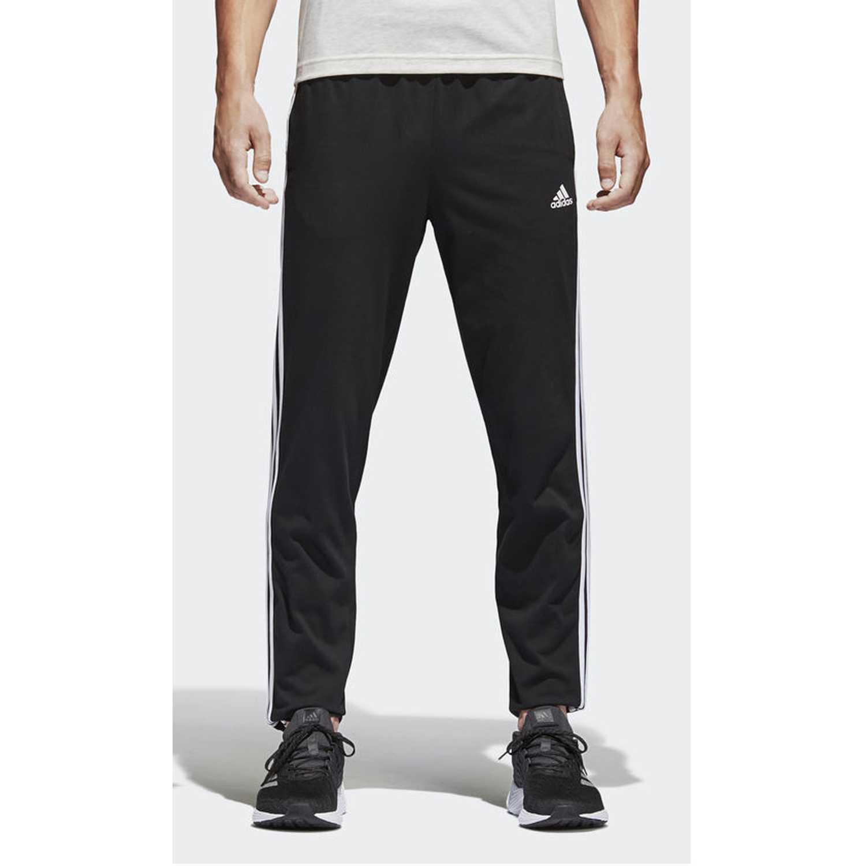 4cf9c3a51475c Pantalón de Hombre Adidas Negro   blanco ess 3s t pnt sj ...