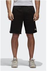 adidas Negro / Blanco de Hombre modelo ESS 3S SHORT FT Deportivo Shorts