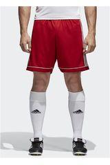 adidas Rojo de Hombre modelo SQUAD 17 SHO Deportivo Shorts