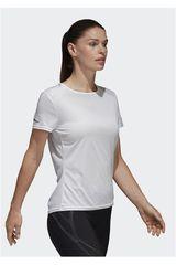 Polo de Mujer Adidas Blanco RUN TEE W