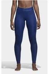 adidas Azulino de Mujer modelo ASK SPR TIG LT Leggins Deportivo