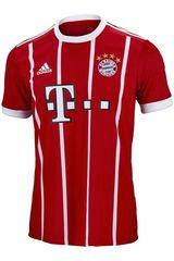 Adidas Rojo / blanco de Jovencito modelo FCB H JSY Y Polos Camisetas