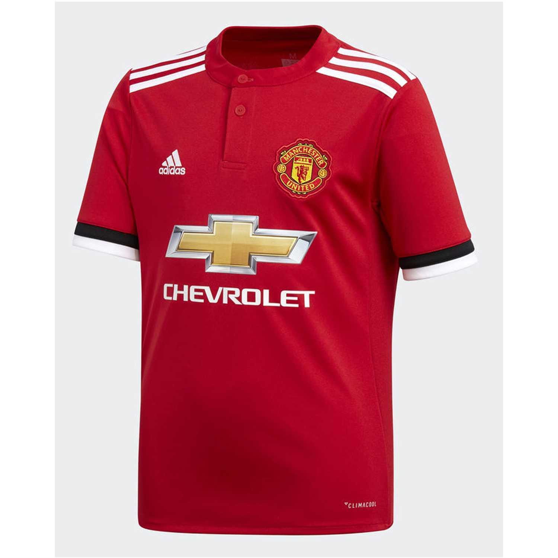 official photos 6371a dbb0d Camiseta de Jovencito Adidas Rojo mufc h jsy y