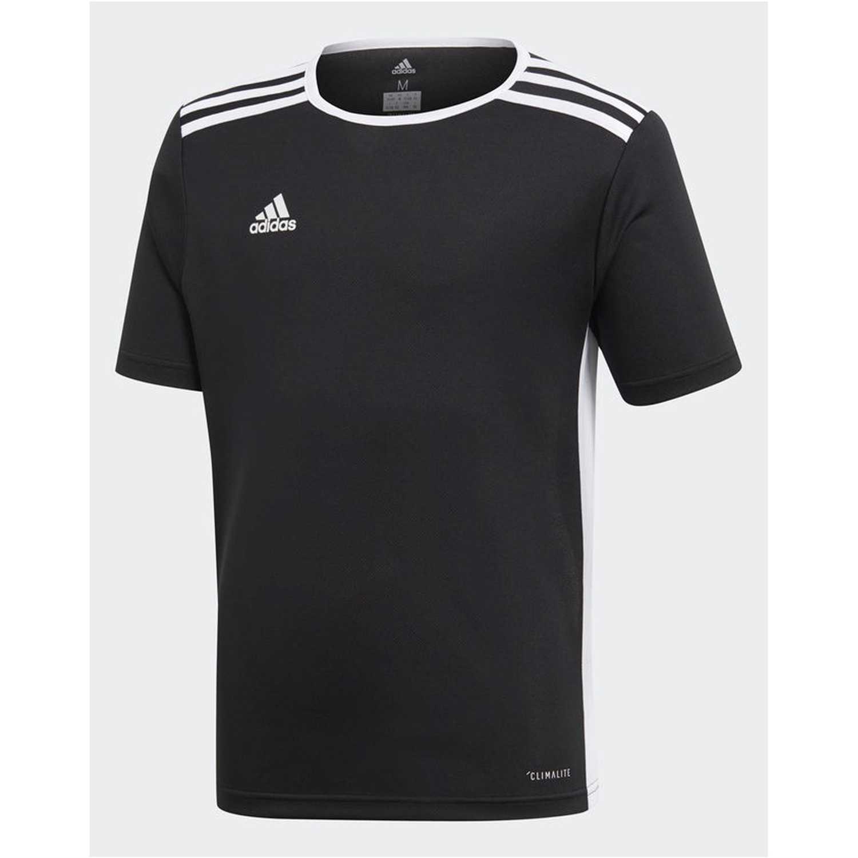 buy online 06952 3b11c Camiseta de Jovencito adidas Negro  Blanco entrada 18 jsyy