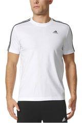 Adidas Blanco de Hombre modelo ESS 3S TEE Deportivo Polos