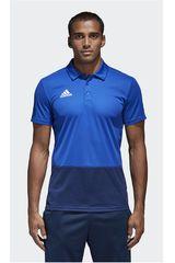adidas Azulino / Acero de Hombre modelo CON18 POLO Polos Camisetas Deportivo