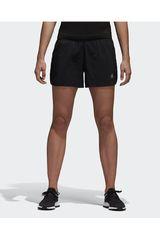 adidas Gris Oscuro de Mujer modelo RUN SHORTS W Shorts Deportivo