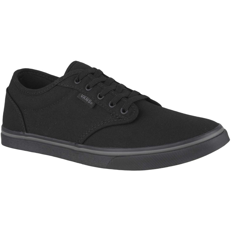 Zapatilla de Mujer Vans Negro / Negro atwood low