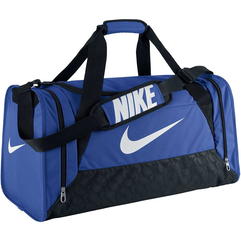 7be38b84f Maletin Deportivo de Hombre Nike Azul / Negro brasilia 6 medium duffel