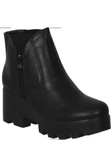 Platanitos Negro de Mujer modelo BTPT 4221 Botínes