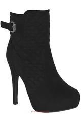 Platanitos Negro de Mujer modelo SIKI-BTP 65 Botínes Plataformas Tacos