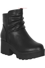 Platanitos Negro de Mujer modelo SOFT-BTPT 82 Botínes