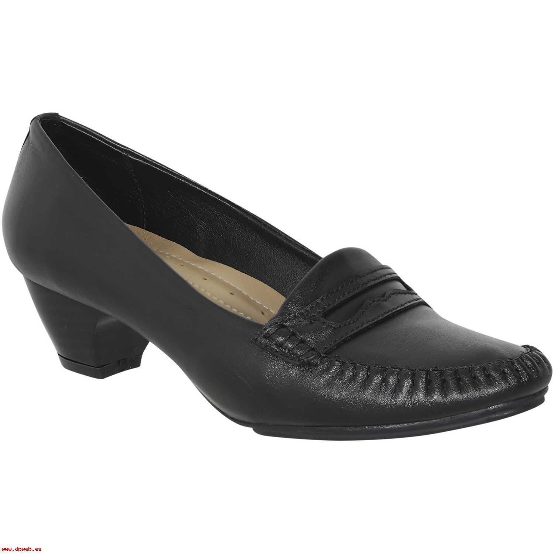 Calzado de Mujer Limoni - Cuero Negro c 480