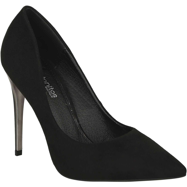 Calzado de Mujer Platanitos Negro c 6013 |