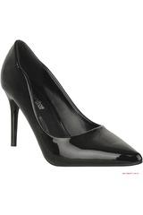 Platanitos Negro de Mujer modelo C 331 Casual Zapatos Tacos