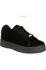 Just4u Negro de Mujer modelo ZC CREP Zapatillas Zapatillas casual