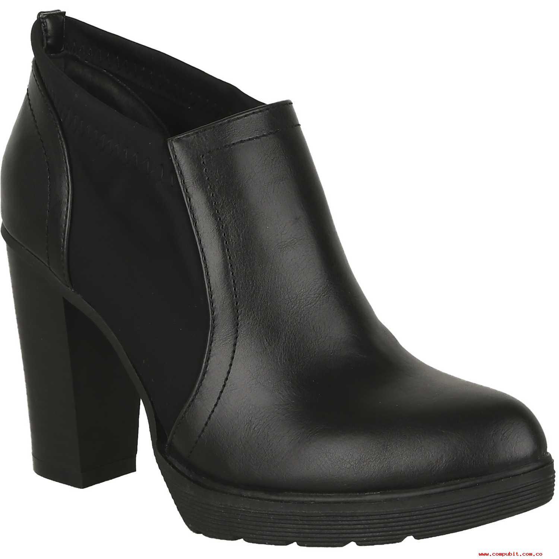 Calzado de Mujer Platanitos Negro cp-c-3