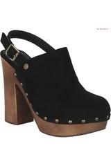 Calzado de Mujer Platanitos Negro SC 883