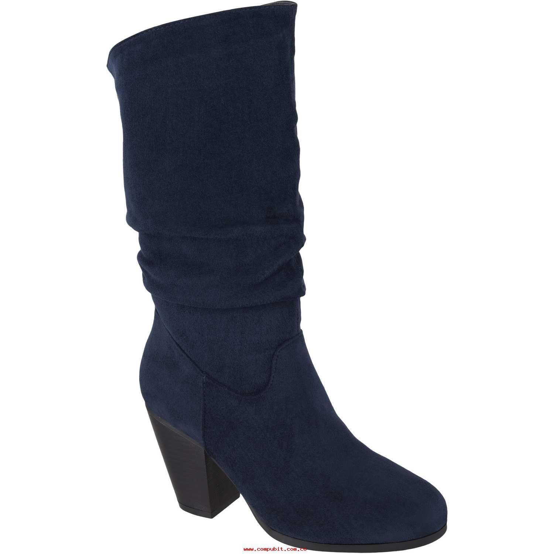 Botín de Mujer Platanitos Azul b-v-3e1