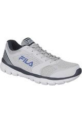 Fila Blanco / Gris de Hombre modelo MOTION Deportivo Running Zapatillas