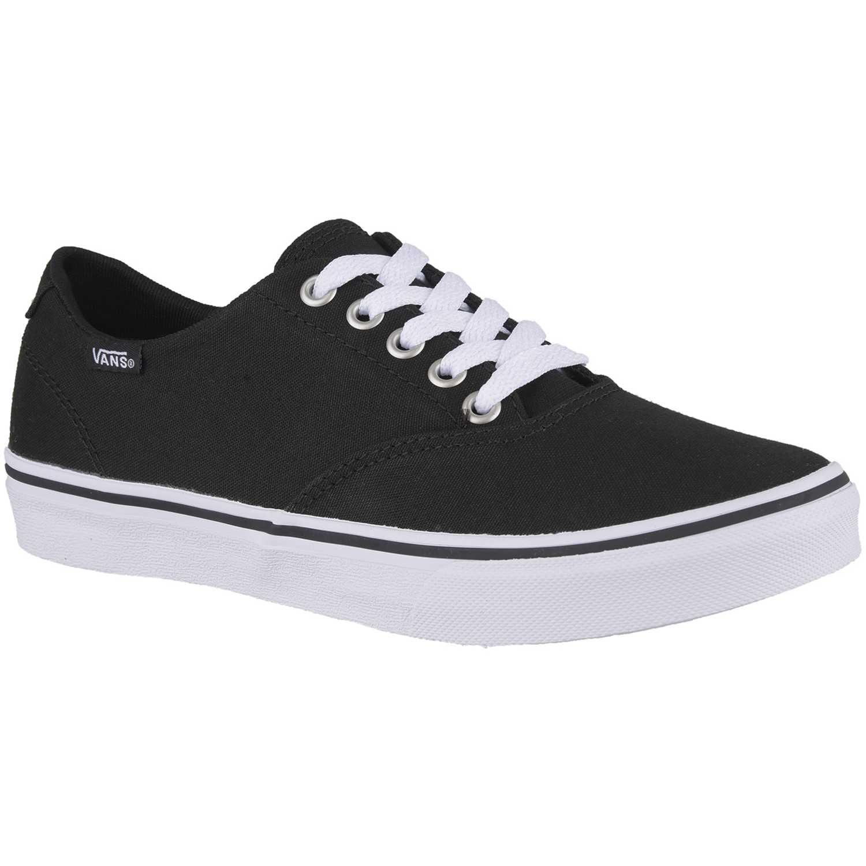 Zapatilla de Mujer Vans Negro / Blanco winston decon