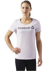 Reebok Blanco de Mujer modelo LINR READ SCOOP Deportivo Polos