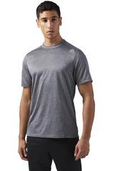 Reebok Gris de Hombre modelo US MELANGE TEE Camisetas Polos Deportivo