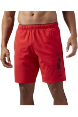Reebok Rojo de Hombre modelo WOVEN SHORT-GRAP Deportivo Shorts