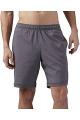 Reebok Gris de Hombre modelo EL SFT POLY SHRT Deportivo Shorts