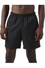 Reebok Negro de Hombre modelo 7 INCH SHORT Deportivo Shorts