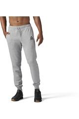 Reebok Gris de Hombre modelo US STACK LOG-JOG Deportivo Pantalones