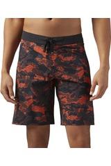Reebok Negro / naranja de Hombre modelo SN CORE-SPLASH-C Deportivo Shorts