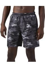 Reebok Gris / Blanco de Hombre modelo 8 INCH GRAPH-SH Deportivo Shorts