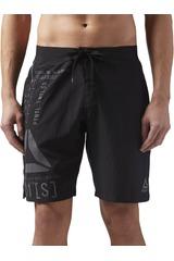 Reebok Negro /gris de Hombre modelo EPIC LIGHTWEI-SH Shorts Deportivo