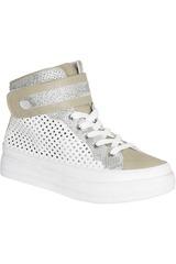 Platanitos Blanco de Mujer modelo ZB 7601 Zapatillas casual Botínes Casual Zapatillas