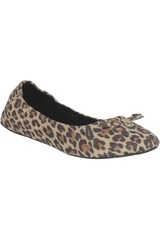 Platanitos Leopardo de Mujer modelo CH 2M6399 Ballerinas Flat Casual