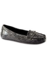 Just4u Negro de Mujer modelo M 30B4 Zapatos Casual Mocasínes