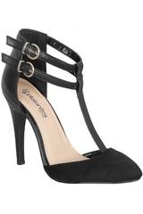 Calzado de Mujer Platanitos Negro C NADIA02