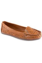 Just4u Marron de Mujer modelo M 30138 Mocasínes Zapatos Casual