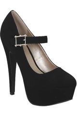 Platanitos Negro de Mujer modelo CP PENELOPE208-M Plataformas Tacos Casual
