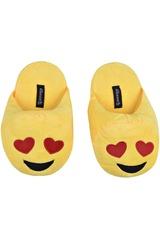 Platanitos Amarillo de Mujer modelo P EMOTIC Pantuflas Casual