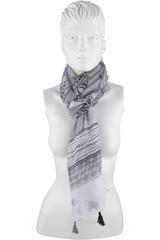 Platanitos Negro de Mujer modelo 1025019 Bufandas