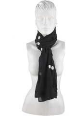 Platanitos Negro de Mujer modelo 1025026 Bufandas