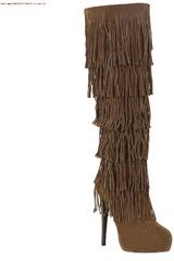 Platanitos Camel de Mujer modelo BP KARISSA Tacos Plataformas Botas
