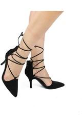 Platanitos Negro de Mujer modelo C SAFFIR28 Zapatos Casual Tacos