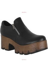 Limoni - Cuero Negro de Mujer modelo CPT PIA Casual Zapatos