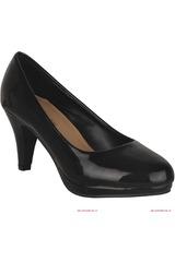 Calzado de Mujer Platanitos Negro CP-V-1