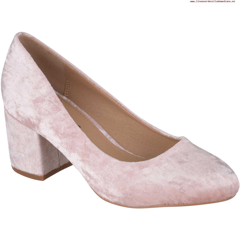 Calzado de Mujer Platanitos Rosado c-v-20